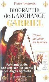 Biographie de l'archange gabriel t.2 ; l'ange qui aime les femmes - Intérieur - Format classique