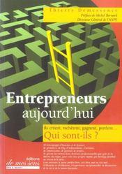 Entrepreneurs, aujourd'hui - Intérieur - Format classique