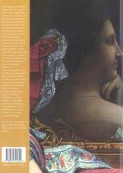 Ingres - 4ème de couverture - Format classique