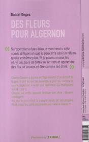 Des fleurs pour Algernon - Daniel Keyes