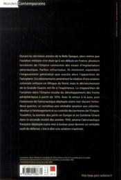 Aeronautique Militaire Francaise Outre Mer - 4ème de couverture - Format classique