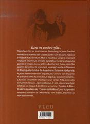 Malefosse t.1 ; l'escorte - 4ème de couverture - Format classique