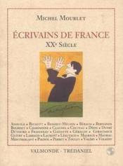 Ecrivain De France Du Xxeme Siecle - Couverture - Format classique