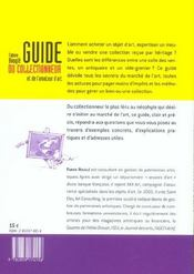 Guide du collectionneur et de l'amateur - 4ème de couverture - Format classique