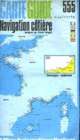 Carte Guide. Navigation Cotiere. Navicarte 555. Hossegor-Ondarroa - Couverture - Format classique