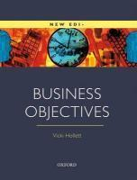 Vente  Business Objectives: Student'S Book  - Vicki Hollett