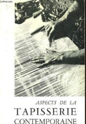 Aspects De La Tapisserie Contemporaine - Couverture - Format classique