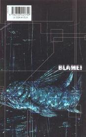 Blame - Tome 08 - 4ème de couverture - Format classique