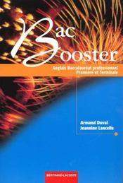 Bac Booster - Intérieur - Format classique
