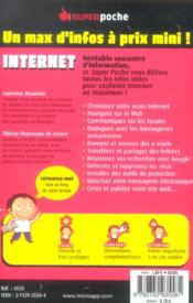 Internet - 4ème de couverture - Format classique
