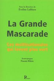 La Grande Mascarade - Intérieur - Format classique