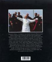 Au coeur du Vatican - 4ème de couverture - Format classique