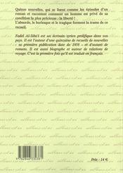D'Une Tristesse A En Mourir - 4ème de couverture - Format classique