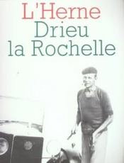 Drieu la Rochelle - Couverture - Format classique