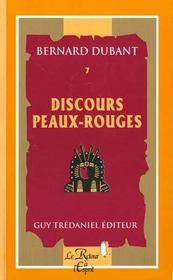 Discours Peaux-Rouges - Intérieur - Format classique
