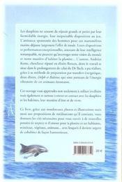 Le Message Energetique Des Dauphins Et Des Baleines - 4ème de couverture - Format classique