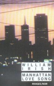 Manhattan Love Song - Couverture - Format classique