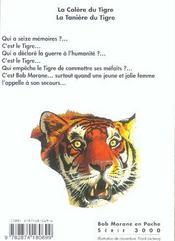 Le Tigre T.2 - 4ème de couverture - Format classique