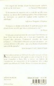 Metisse Blanche - 4ème de couverture - Format classique