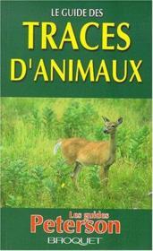 Le guide des traces d'animaux - Couverture - Format classique