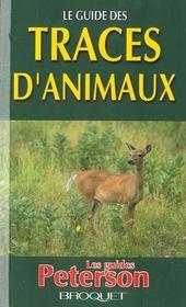 Le guide des traces d'animaux - Intérieur - Format classique