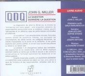 Qdq - 4ème de couverture - Format classique