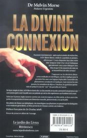 La divine connexion - 4ème de couverture - Format classique