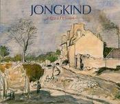 Jongkind ; aquarelles - Intérieur - Format classique