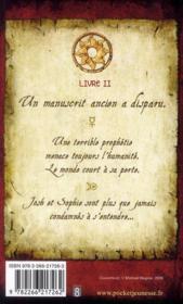 Les secrets de l'immortel Nicolas Flamel t.2 ; le magicien - 4ème de couverture - Format classique