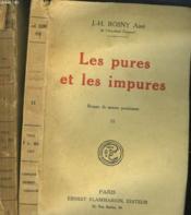 Les Pures Et Les Impures. En 2 Tomes. - Couverture - Format classique
