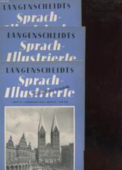 Lot De 3 Revues : Sprach-Illustrierte - Couverture - Format classique