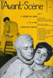 L'AVANT-SCENE - FEMINA-THEATRE N° 194 - LE DESSOUS DES CARTES de ANDRE GILLOIS présentée par PAUL-LOUIS MIGNON - Couverture - Format classique
