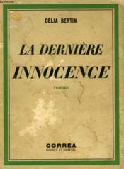 La Derniere Innocence - Couverture - Format classique