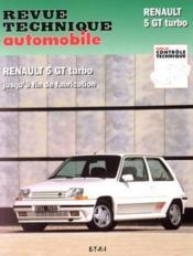 Rta 464.5 Renault 5 Gt Turbo (85-92) - Couverture - Format classique