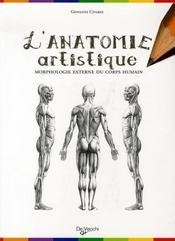 L'anatomie artistique - Intérieur - Format classique