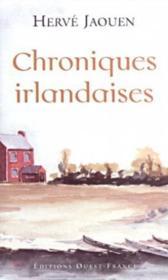 Chroniques irlandaises - Couverture - Format classique