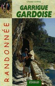 Garrigue Gardoise Randonnee - Couverture - Format classique