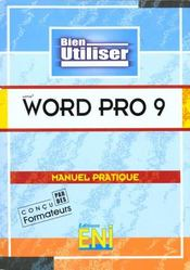 Vente  Wordpro 9  - Collectif