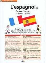 L'espagnol ; conversacion - Intérieur - Format classique
