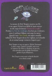 Petit Vampire T.1 ; Victime De La Mode - 4ème de couverture - Format classique
