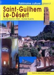 Saint-guilhem-le-desert - Couverture - Format classique