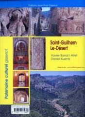 Saint-guilhem-le-desert - 4ème de couverture - Format classique