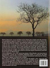 Le Puy De Dome Et La Chaine Des Volcans - 4ème de couverture - Format classique