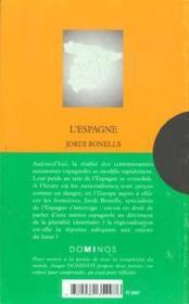 L'Espagne. Collection : Dominos N° 155 - Couverture - Format classique