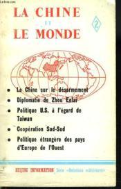 La Chine Et Le Monde. 2. - Couverture - Format classique