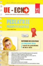 Pédiatrie, pédopsychiatrie (édition 2016) - Couverture - Format classique
