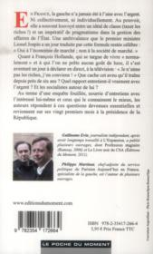 Hollande et l'argent - 4ème de couverture - Format classique
