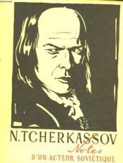 Notes D'Un Acteur Sovietique - Couverture - Format classique