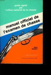 Manuel De L'Examen De Classe - Couverture - Format classique