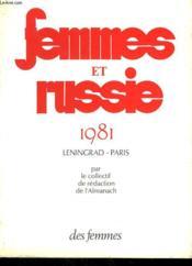Femmes Et Russie 1981 - Couverture - Format classique